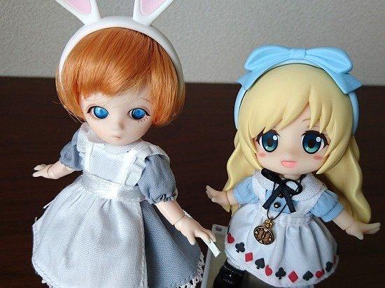 プチフェアリー(オビツ11)+キューポッシュフレンズのアリス