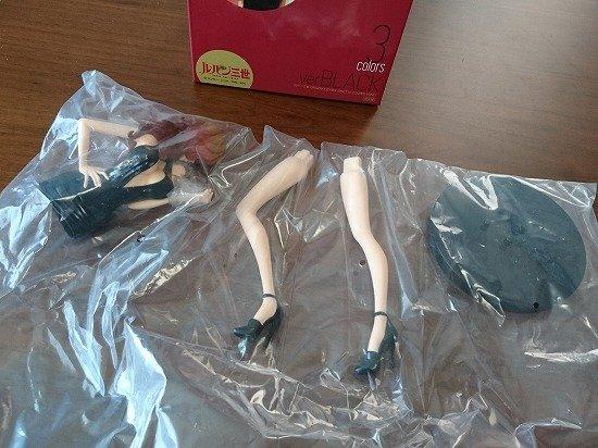 プライズ品 リアル系峰不二子フィギュア 黒Ver.