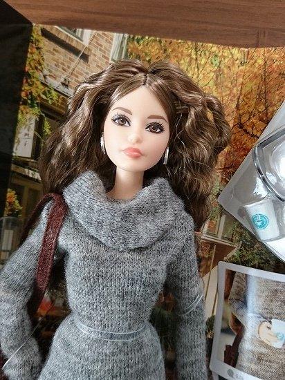 Barbie The Look Sweater Dress 現代風美人なバービー人形