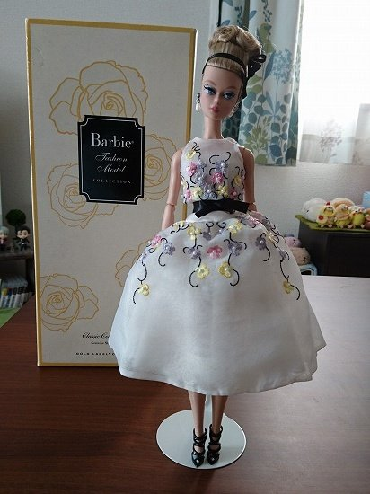 【Barbie Collection】 Classic Cocktail Dress Silkstone Doll