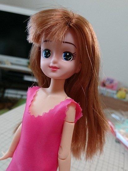エリーちゃんのボディカスタム ピュアニーモへ変更
