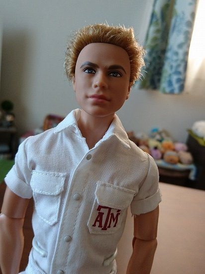 Barbie Collector Texas A&M University Ken 可動ボディ
