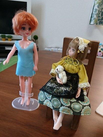 ダイソー エリーちゃん 専用のウィッグを購入・装着