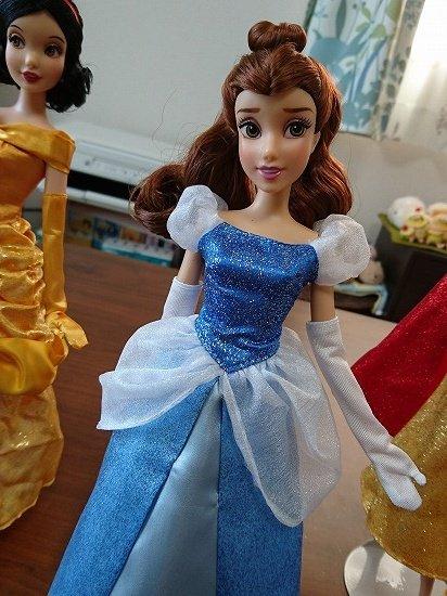 【クラシックドール】プリンセスのドレスを着回し