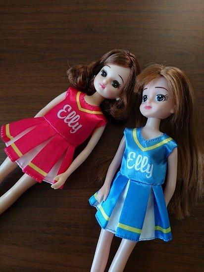 リカちゃんとエリーちゃんを比較