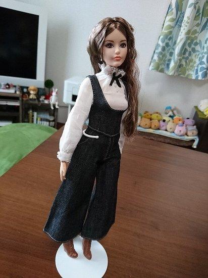 バービーにジェニーちゃんの服を着せてみた 互換性チェック