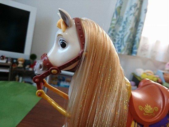 ラプンツェルの馬 マキシマス バービーサイズ