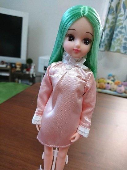 お人形教室スタンダードリカちゃん 緑の髪のリカちゃん