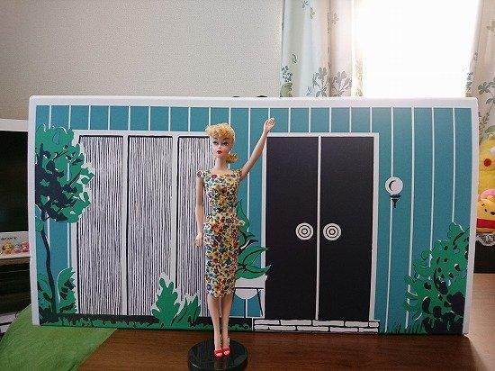 バービーハウス Barbie Dream House 1962 Reproduction