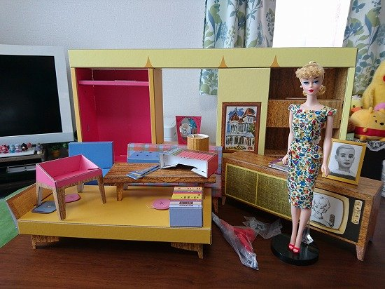 バービーハウス Barbie Dream House 1962 Reproduction